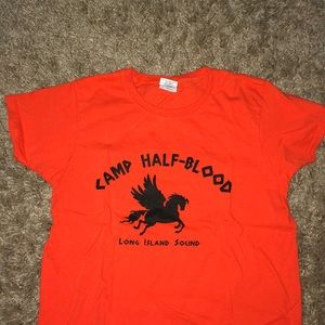 "Percy Jackson Series Tee ""Camp Half-Blood"""